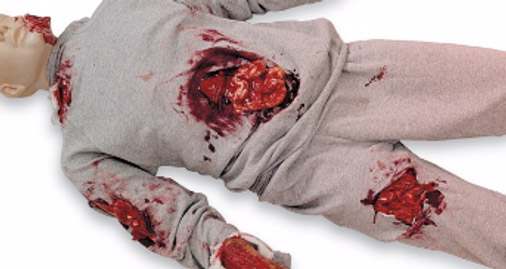 rescueawareness bleeding dummy - About