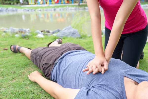 rescueawareness cpr training real life scenario mannequin - About